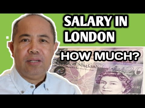 SALARY IN LONDON, HOW MUCH?