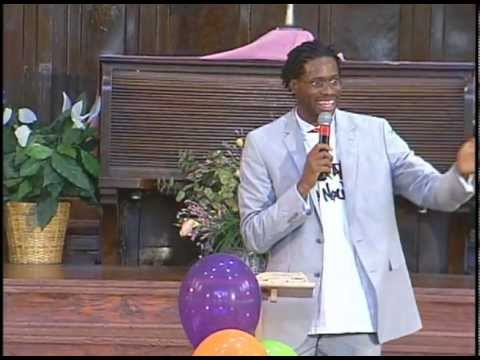 Rev. Tim Lee leads Youth Service at MACC, Sunday, August 14, 2011