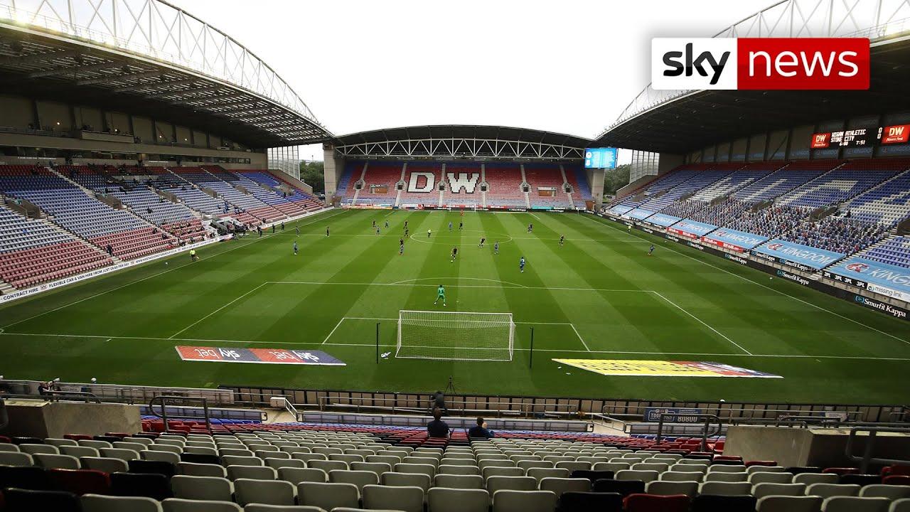 Wigan Athletic calls in the administrators