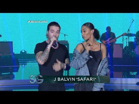 J Balvin canta Safari ft. BIA en vivo - Susana Gimenez