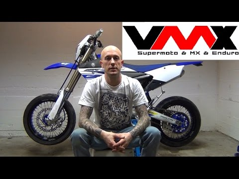VMX Review   Building a Supermoto   VLOG #1   BELLON