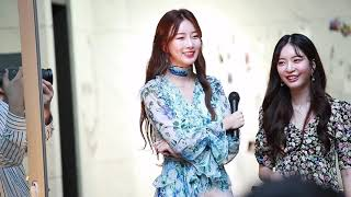 191005 Dal.Shabet 달샤벳 Subin 수빈 Talk @ Reunion mini concert -…