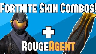 Fortnite Skin Combos!! - Rouge Agent