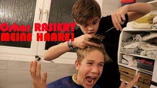 Oskar Rasiert mir die Haare!   Ben
