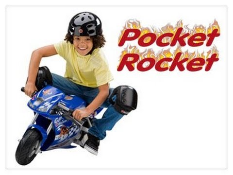 Test Ride Razor Pocket Rocket Miniature Electric Bike