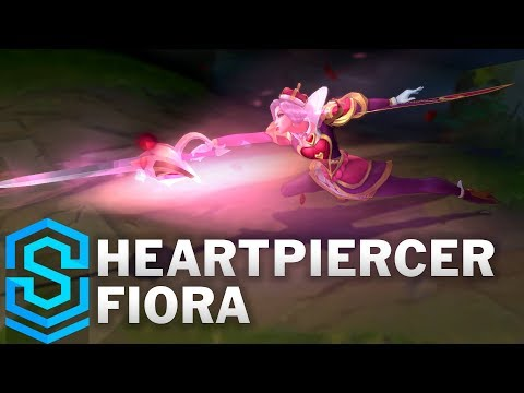 Heartpiercer Fiora Skin Spotlight - Pre-Release - League of Legends