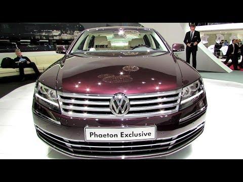 2014 Volkswagen Phaeton Exclusive - Exterior and Interior Walkaround - 2014 Geneva Motor Show