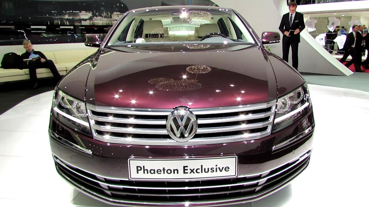 2014 volkswagen phaeton exclusive exterior and interior. Black Bedroom Furniture Sets. Home Design Ideas