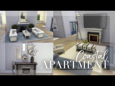 Coastal Penthouse Apartment | The Sims 4