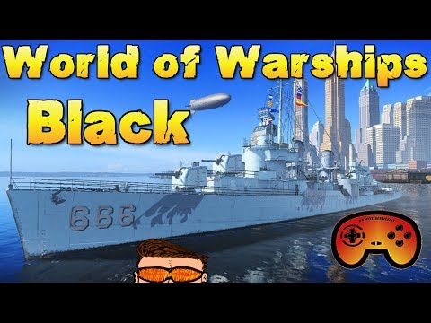 Die BLACK angespielt und vorgestellt - World of Warships - Premium Zerstörer Deutsch/German Gameplay
