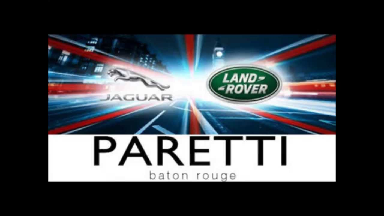 Paretti Jaguar Land Rover Baton Rouge Grand Opening Video Invitation