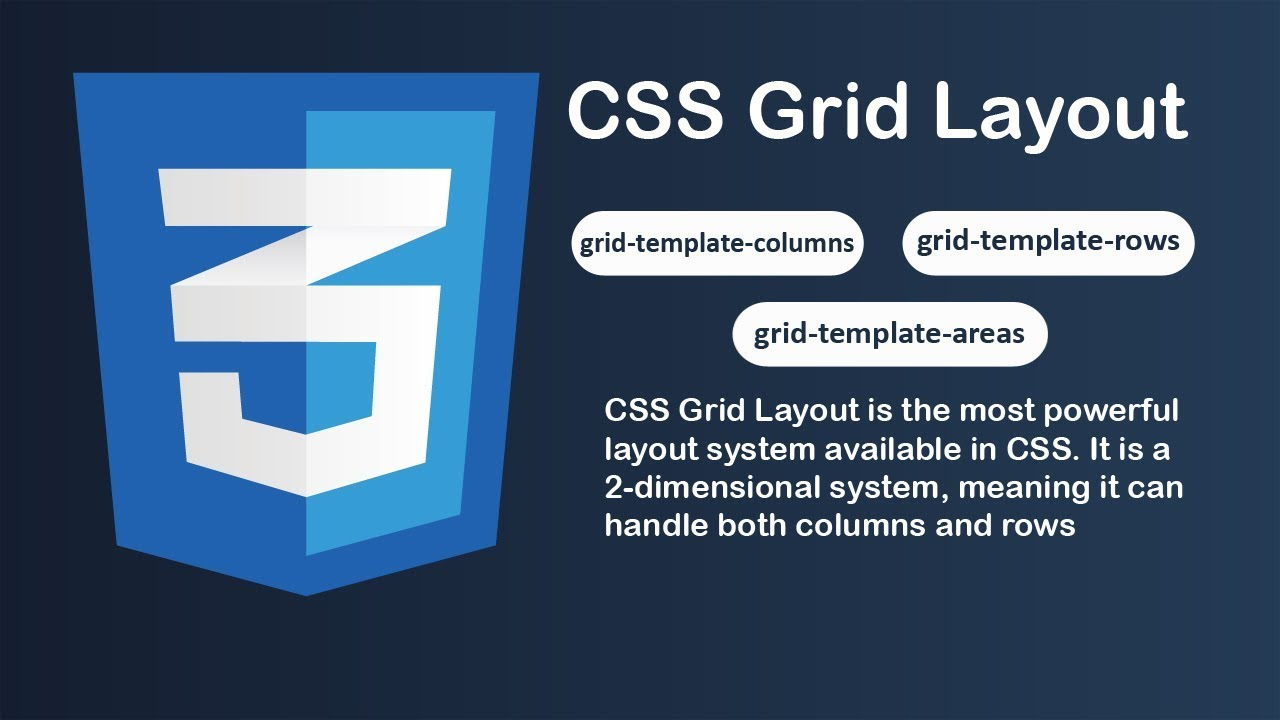 How to create css3 grid layout grid template columns grid how to create css3 grid layout grid template columns grid template rows grid template areas maxwellsz