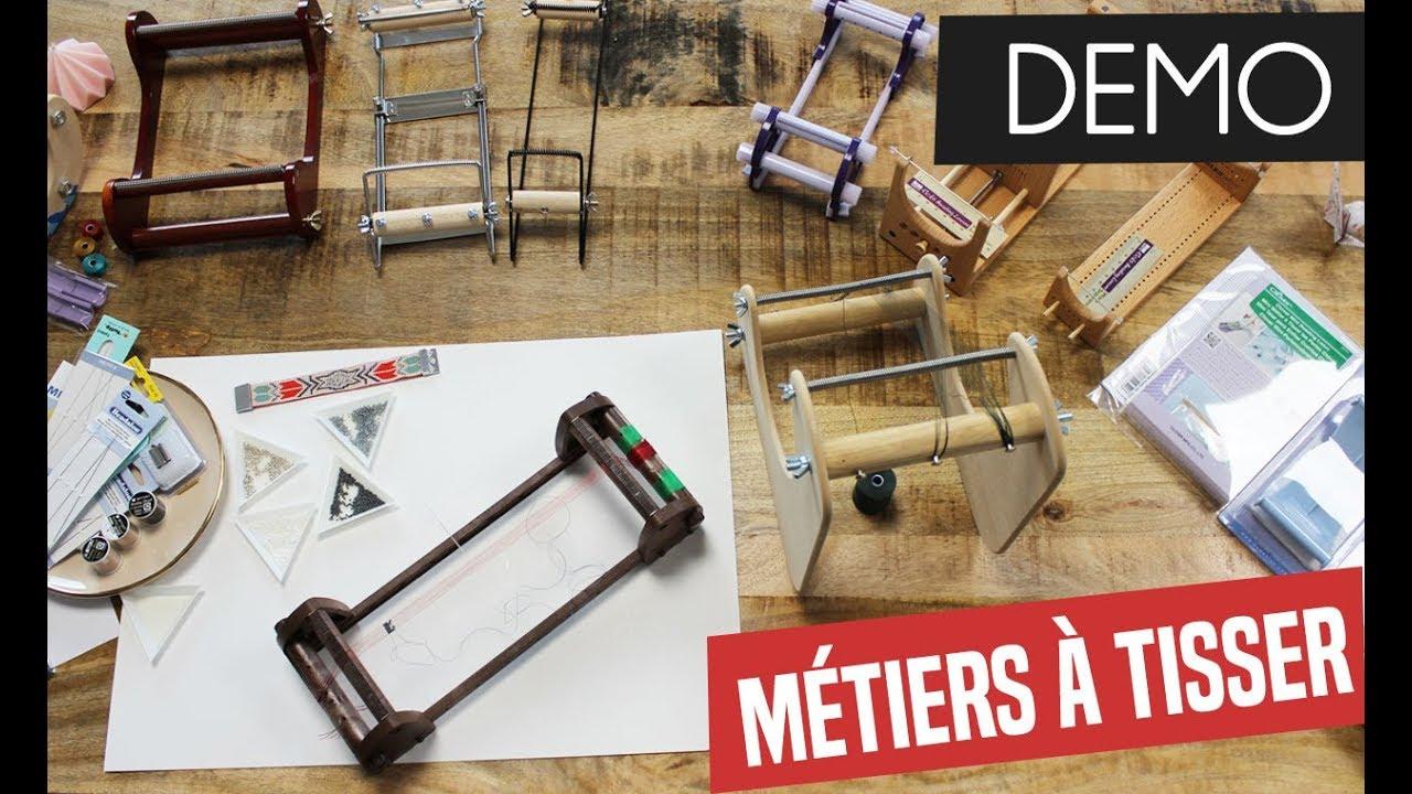 Demo 12 Metiers A Tisser Comment Monter Et Utiliser Un Metier A