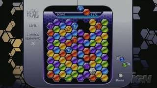 Hexic HD Xbox 360 Gameplay - Playing Hexic