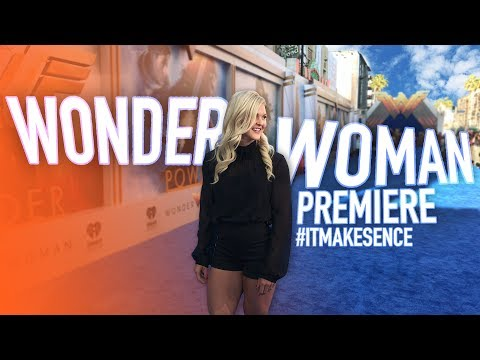 Brooke Ence - Wonder Woman Premiere