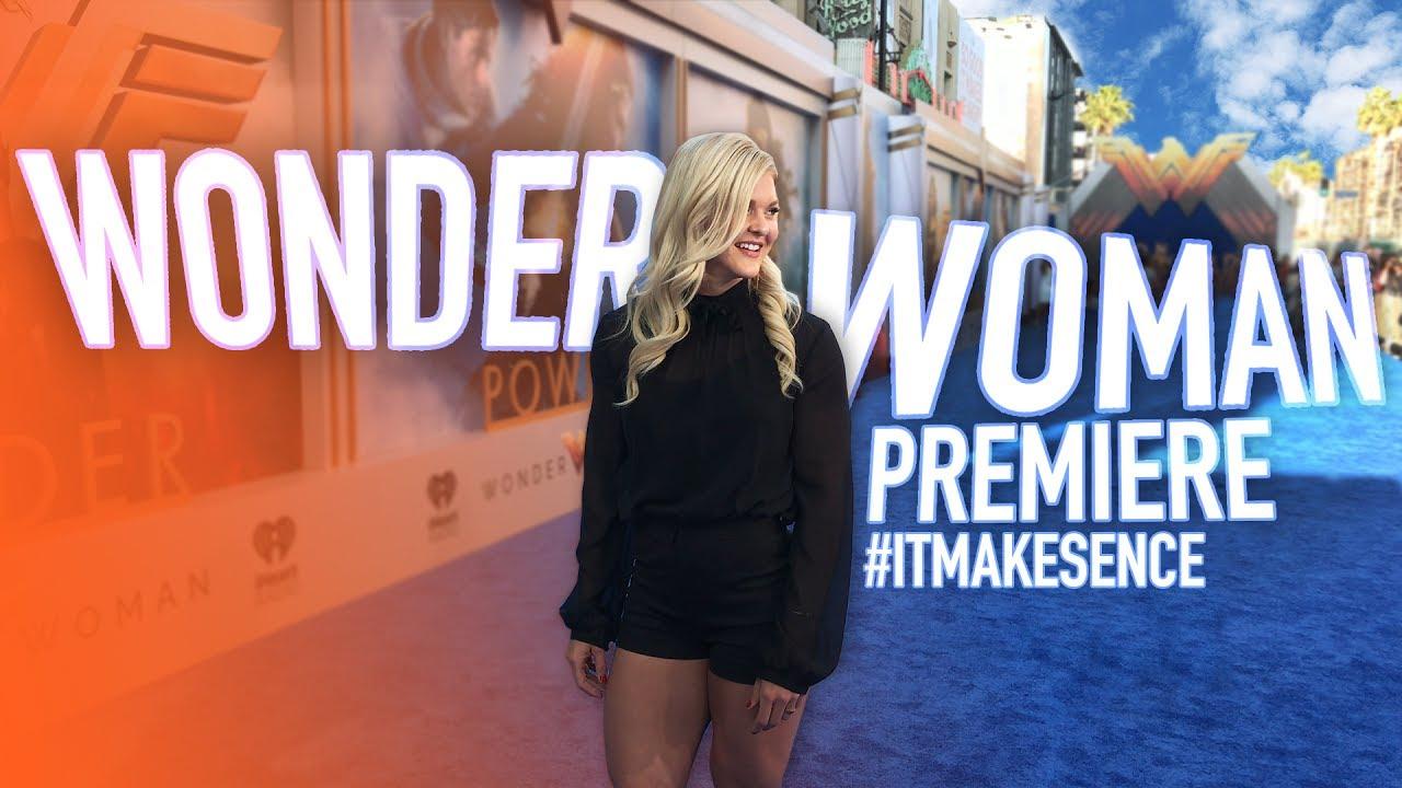 Brooke Ence - Wonder Woman Premiere