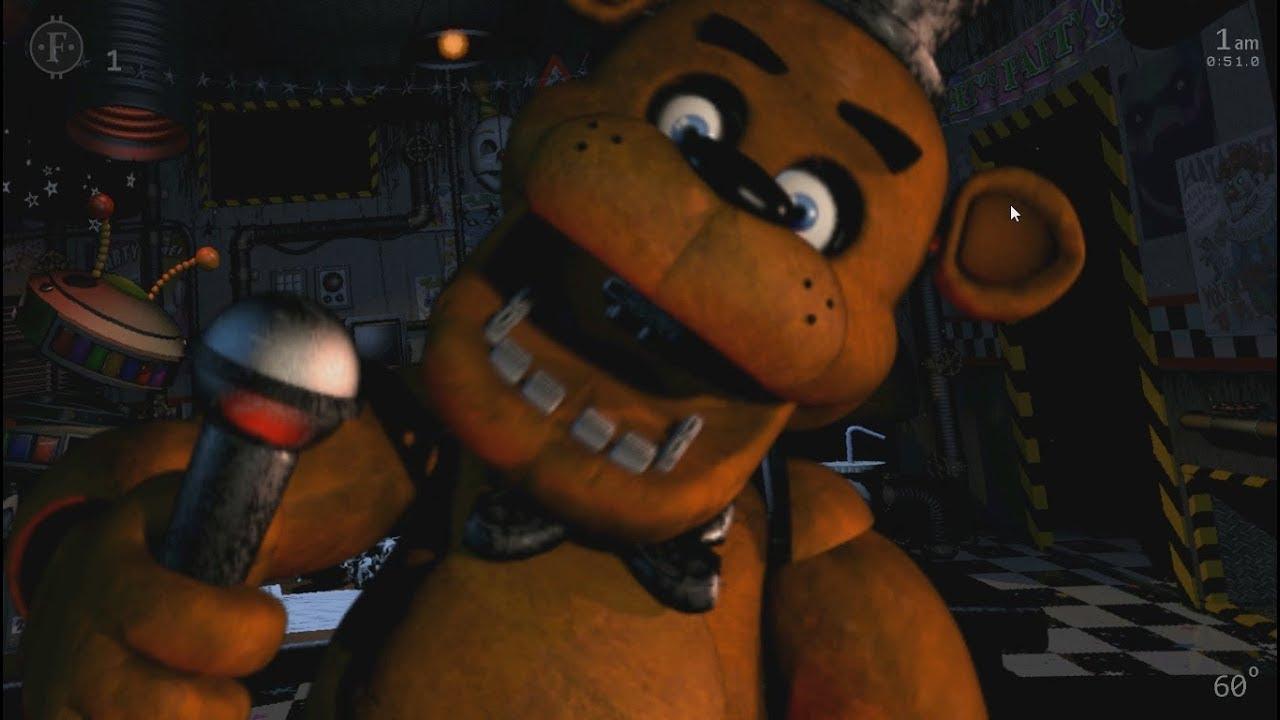 Ultimate Custom Night - Freddy Fazbear Jumpscare
