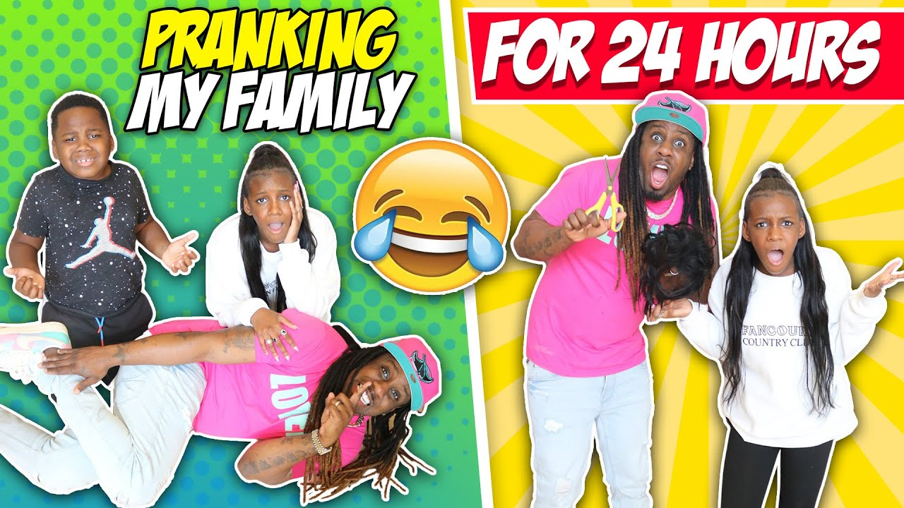 PRANKING MY KIDS FOR 24 HOURS!!