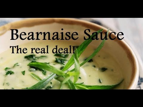 Authentic Bearnaise Sauce   Bearnaise Tutorial   Step By Step French Recipe