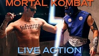 Mortal Kombat - Sub-Zero Vs. Johnny Cage