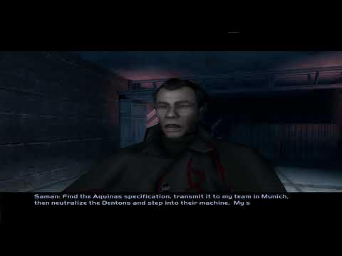 Deus Ex: Invisible War (2003) - Liberty Island (Part 1) (New York) [4K 60FPS] |