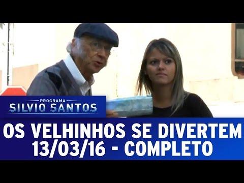 Os Velhinhos Se Divertem (13/03/16) - Completo
