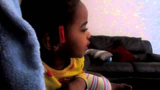 Kaya singing 17-03-13 (Barbie Diamond Castle Two Voices One Song)