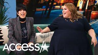 Chrissy Metz Blushes Over Songwriter Diane Warren Being Impressed By Her Voice