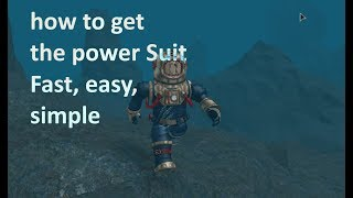 *How To* get the Power Suit* in roblox* (easy) (fast) (special suits *required*) Scuba Diving