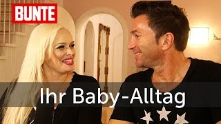 Daniela Katzenberger - So sieht ihr Baby-Alltag aus  - BUNTE TV