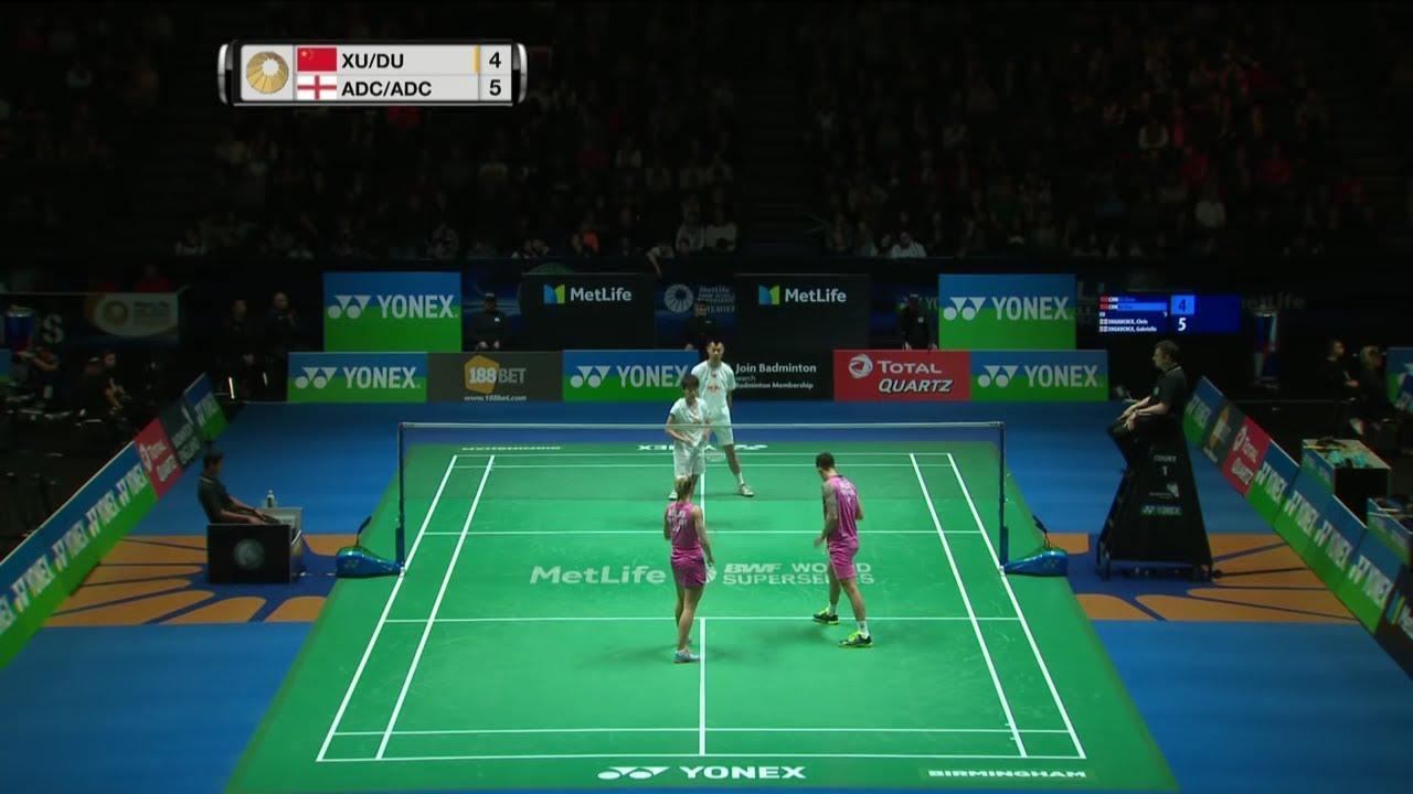 Chris Adcock Gabrielle Adcock vs Xu Chen Du Yue