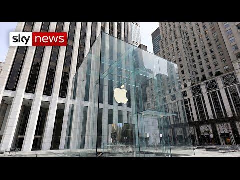 [视频]打破僵局:苹果公司赢得了对欧盟委员会116亿英镑的税务上诉
