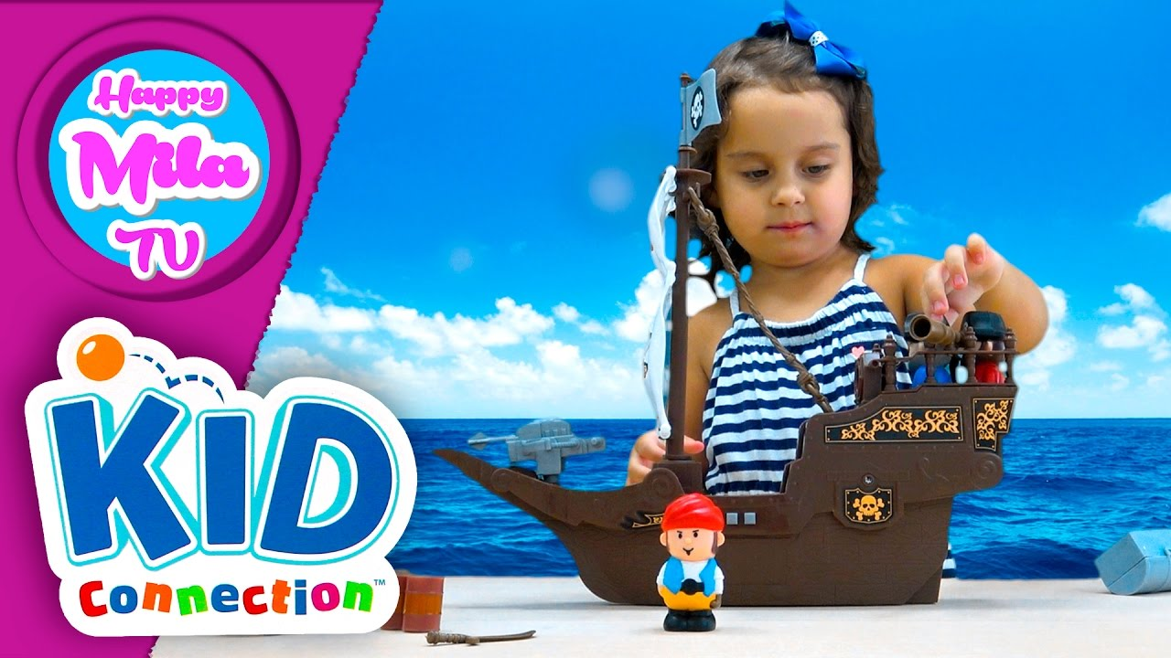 The Pirate Adventure Play Set by Kid Connection | HappyMilaTV #269 ...