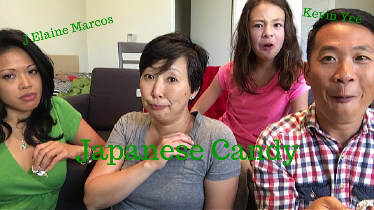 Japanese Candy with Kevin Yee & J Elaine Marcos! - YouTube
