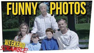 WS - Worst Photoshopped Family Photos Ever ft. DavidSoComedy