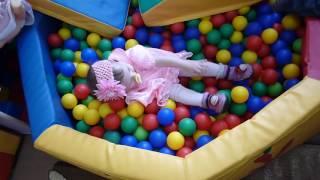 Детский сухой бассейн с шариками