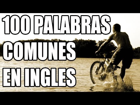100 Palabras Más Comunes en Inglés con Frases de Ejemplo - 100 Most Common Words in English #2