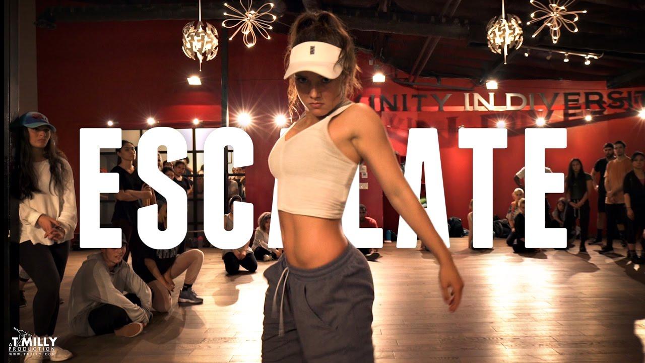 Tsar B - Escalate - Choreography by Alexander Chung - ft Jade Chynoweth - Filmed by @TimMilgram #1