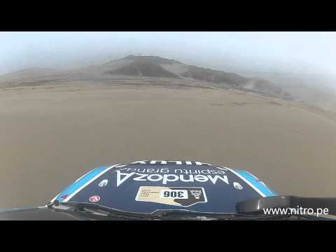 Dakar 2013 Lucio Alvarez on board en san bartolo Videos De Viajes