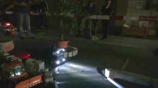 RADIO CONTROL TRUCK IN THE NIGHT IN ACTION EXCAVATOR TRUCK dozer tractor