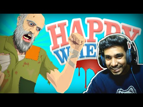 MOST FUNNIEST GAME EVER   HAPPY WHEELS GAMEPLAY #1