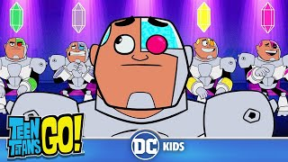 Teen Titans Go! | Ultimate Teen Titans: Cyborg | DC Kids