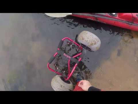 My Old Town Predator PDL: Truck Bed Extender And Bonnlo Kayak Cart