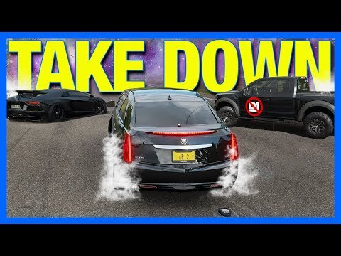 Forza Horizon 4 Online : THE TAKE DOWN CHALLENGE!! thumbnail