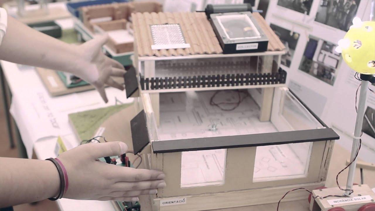 proyectos de alumnos - vivienda bioclimÁtica - youtube