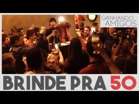 GANHANDO AMIGOS #14 - PAGANDO CERVEJA PRA 50 (Pomerode, SC)