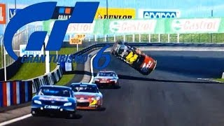 Gran Turismo 6. Accidente, crash NASCAR 2015 PS3 [HD]