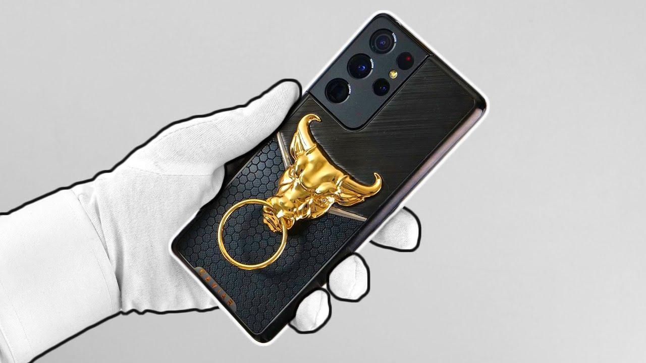 $20,000 Gold Samsung Galaxy S21 Ultra