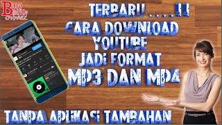 Cara Download Vidio YouTube Jadi MP3 dan MP4 - Tanpa Aplikasi.