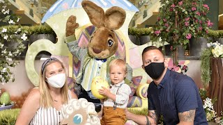 First Time Meeting The Easter Bunny, Eating The Best Burger In Orlando & Planting Easter Egg Seeds!